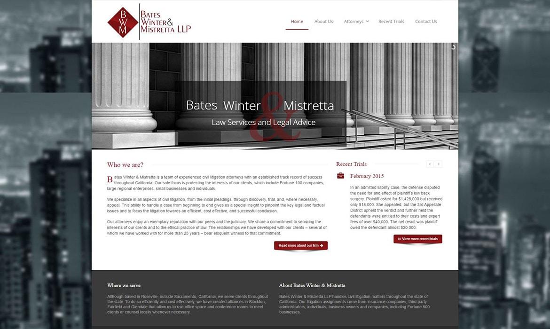 Bates Winter Mistretta
